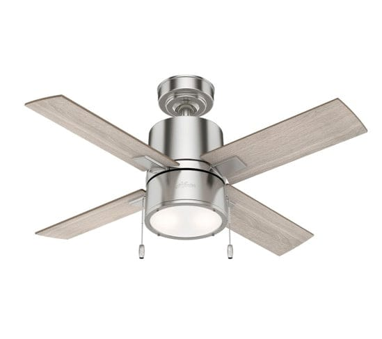 42inch Beck ceiling fan in brushed nickel finish