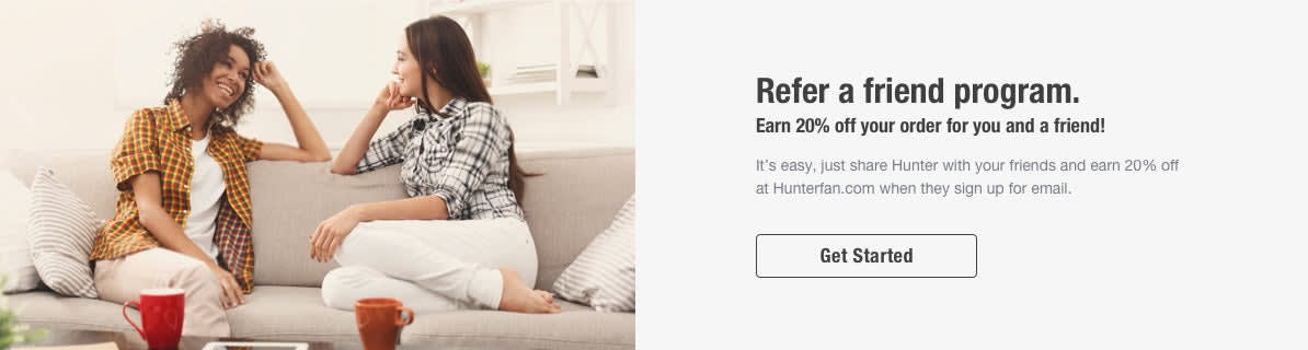 Refer a friend and earn a discount for you and your friend