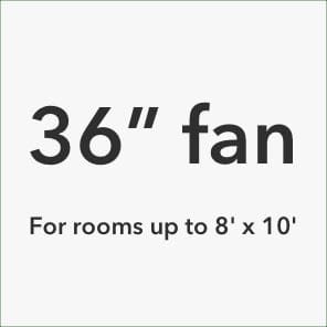 36inch ceiling fans